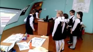 Сафиуллова Гульназ урок по английскому языку во втором классе  на тему Знакомство часть 2