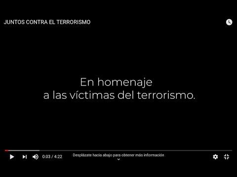 JUNTOS CONTRA EL TERRORISMO