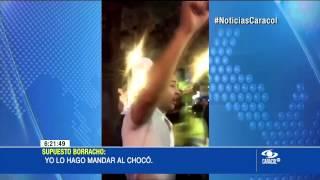 """""""No sabe con quién se metió"""": ¿sobrino de César Gaviria protagoniza escándalo? - 3 de Marzo de 2015"""
