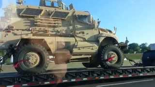 DHS Armored Civil Unrest Vehicles Headed To Fort Worth Texas