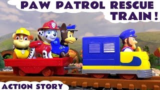 paw patrol railway toy trains rescue with thomas and friends minions ryder marshall chase tt4u