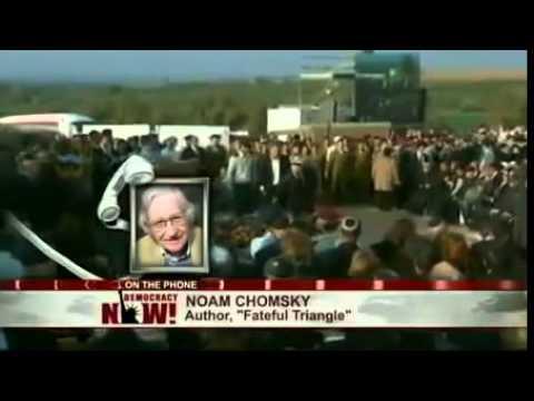 Noam Chomsky 2014  Ariel Sharon Was A Brutal Killer!
