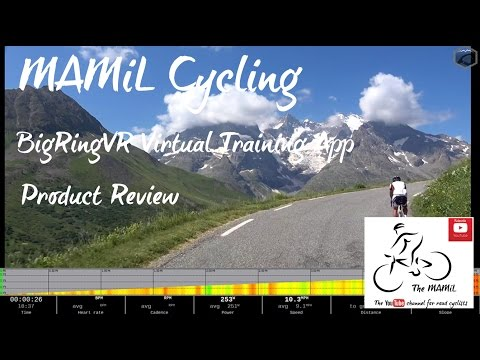 MAMIL Cycling : BigRingVR Virtual Training App Product Review