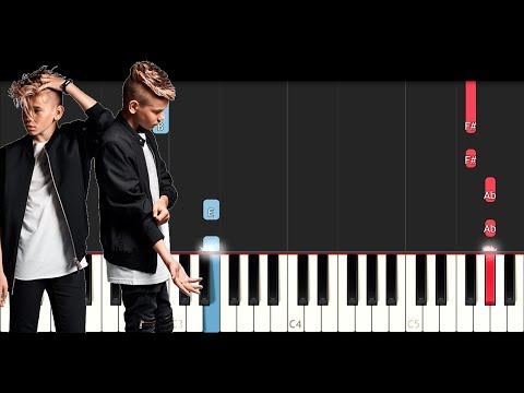 Marcus & Martinus - Make You Believe In Love (SLOW EASY PIANO TUTORIAL)