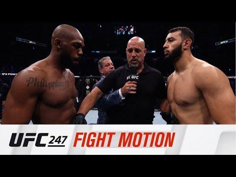 UFC 247: Fight Motion