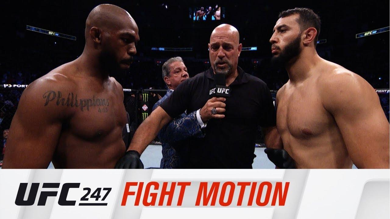 Ufc 247 Fight Motion Youtube