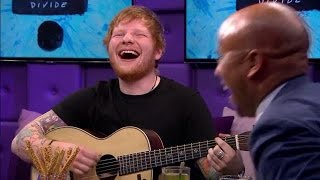 Ed Sheeran improviseert erop los - RTL LATE NIGHT MP3