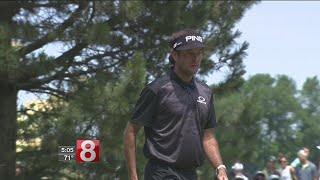 Re-focused Bubba Watson within striking distance at Travelers