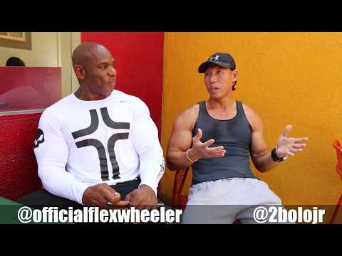 FLEX WHEELER & BOLO JR TRAINING 2017' New