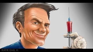 The Doctor Drawing by Rafik Emil H (with Audio)
