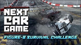 Next Car Game - Figure-8 Race to the Death Challenge!