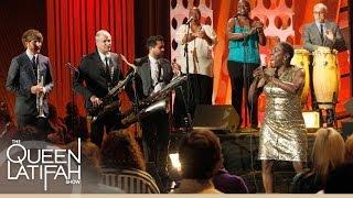 "Sharon Jones & the Dap-Kings Perform ""Long Time, Wrong Time"" on The Queen Latifah Show"