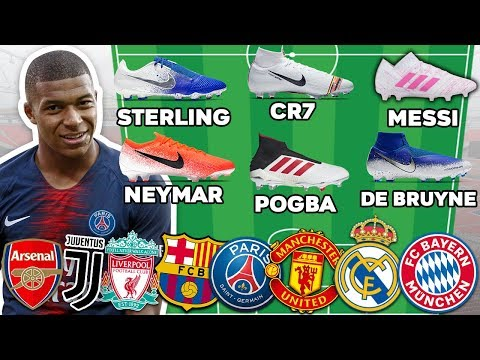 Ultimate Football Lineups! 2019 Ronaldo, Messi, Mbappe, Pogba...