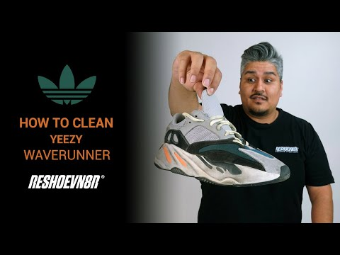 How to Clean #Yeezy 700 Wave Runner with #Reshoevn8r