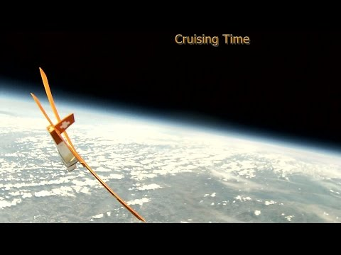 Near space ballooning 2015 with a Glider