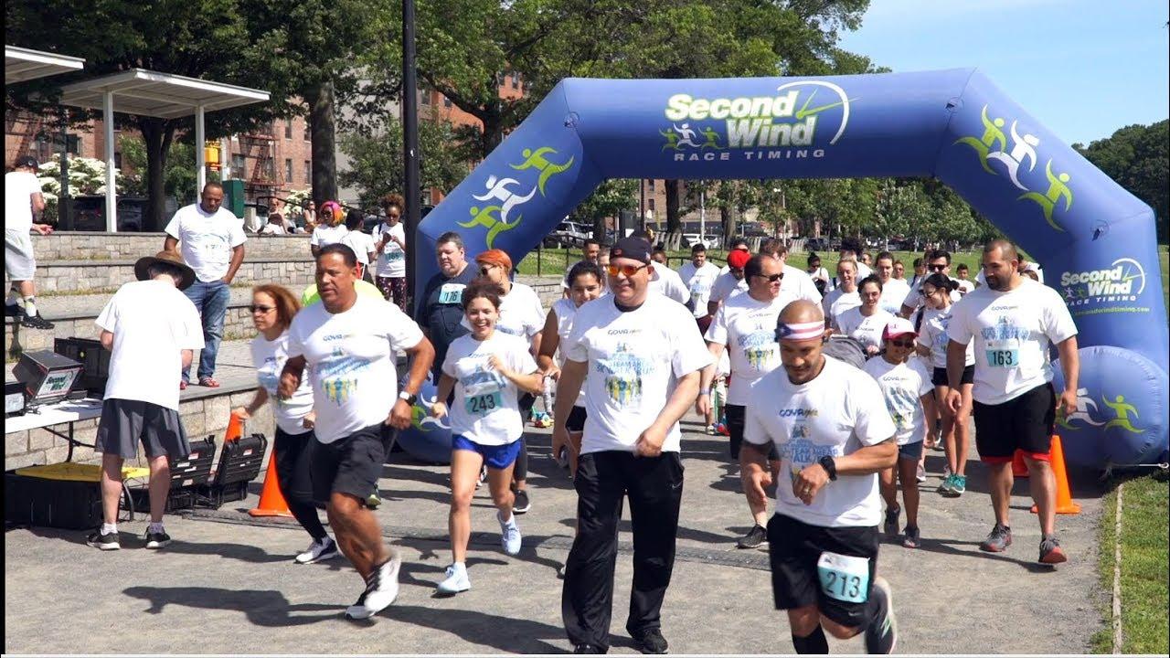 Video Highlights of the 2nd Annual Cristian Rivera Foundation Full Steam Ahead 5K Walk/Run