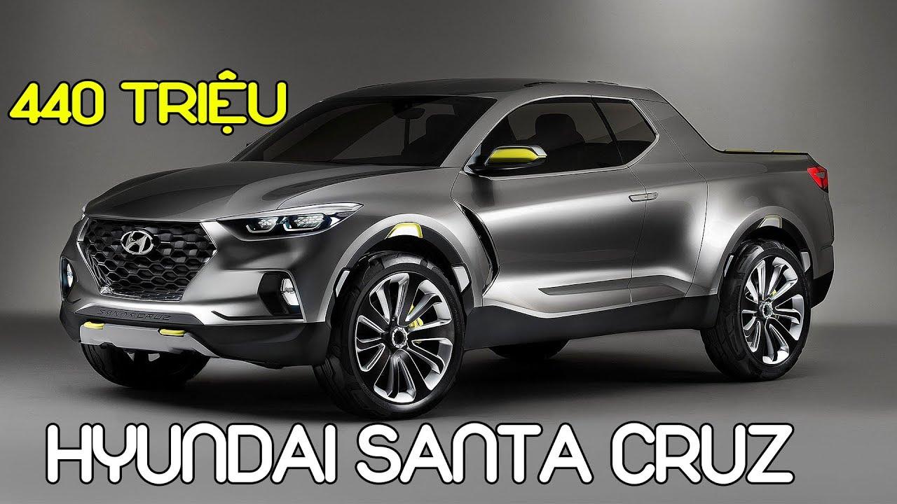 Bán tải Hyundai Santa Cruz ra mắt vào 2020 giá 440 triệu #txh