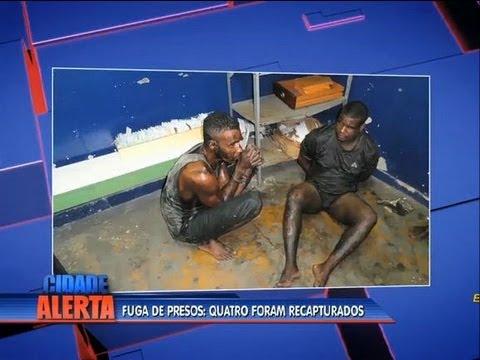 Detentos que fugiram de presídio em Bangu reaparecem sujos de esgoto