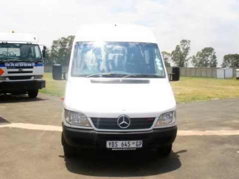 2009 MERCEDES BENZ SPRINTER 416CDI Auto For Sale On Trader South Africa