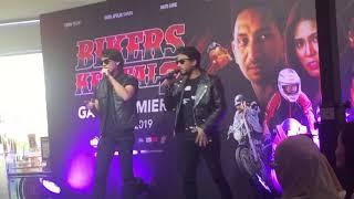 OST #BikerKental2 ~ Akim Ahmad ft Faizal Tahir at Gala Premiere Bikers Kental 2,Sunway Velocity Mall