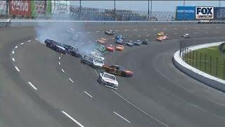 NASCAR Xfinity Series 2017. Texas Motor Speedway. Multiple Crash