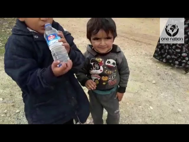 Food, Water, Bread & Potatoes Distribution in Syria - December 2018