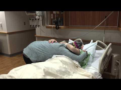 Recliner Man's Daughter, Maverick, Visits Him In The Hospital