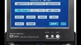 Pioneer Tela Retrátil Avh P 5700 Dvd