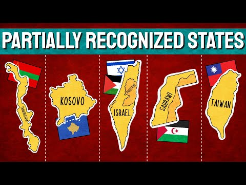 Partially Recognized Countries of the World