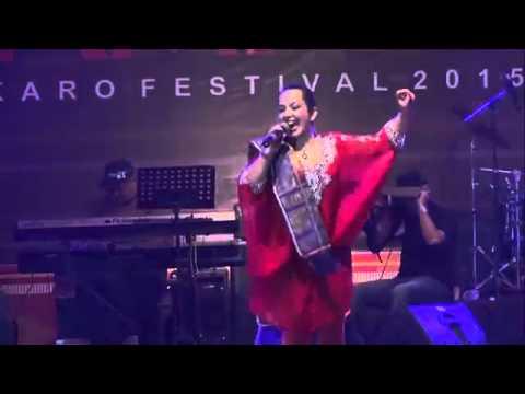 Santa Hoky br Ginting  ( Terdaram-Daram ) - Karo Festival 2015