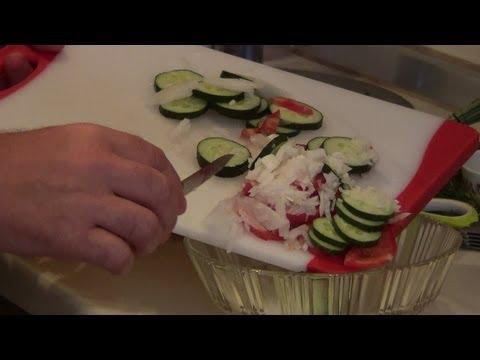 Вегетарианский сыроедческий оливьеиз YouTube · Длительность: 2 мин42 с