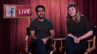 The Big Sick's Kumail Nanjiani and Emily V. Gordon was Live on Facebook