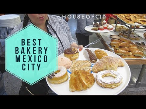 Best Pan Dulce Bakery In Mexico City - Pasteleria Ideal #CDMX (4k Osmo Pocket)