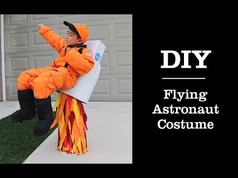 Diy Tutorial On How To Make A Flying Astronaut Halloween Costume