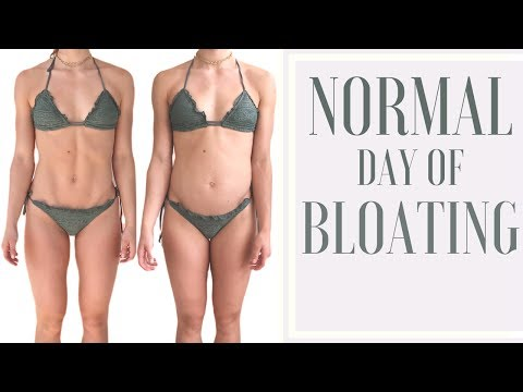 IS BLOATING NORMAL?    FULL DAY OF BLOATING