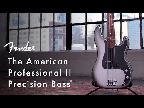 American Professional II Precision Bass | American Professional II Series | Fender