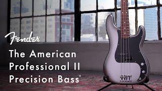 American Professional II Precision Bass   American Professional II Series   Fender