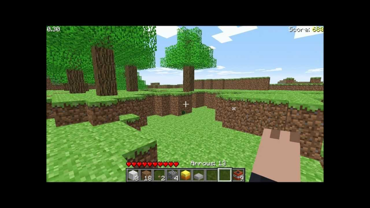 How to play Minecraft survival test (in browser)