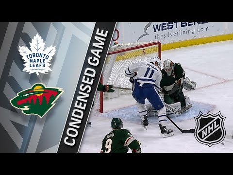 12/14/17 Condensed Game: Maple Leafs @ Wild
