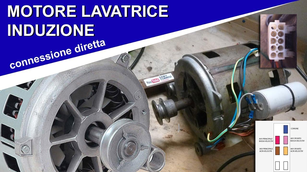 Schema Elettrico Motore Lavatrice : Collegamenti motore lavatrice a spazzole doovi
