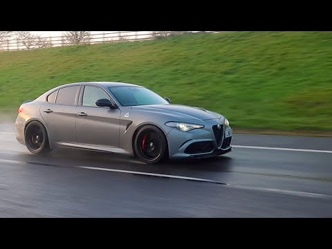 This Alfa Romeo Giulia Quadrifoglio NRing Is EPIC! 850BHP DBS Ride!!