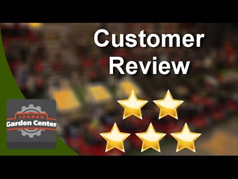 Jordan Garden Center Midvale  Exceptional Five Star Review by Sherrie B.