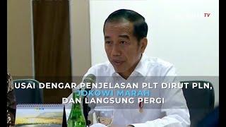 Ini Momen Jokowi Marah Usai Dengar Penjelasan Plt Dirut Pln Soal Mati Listrik…