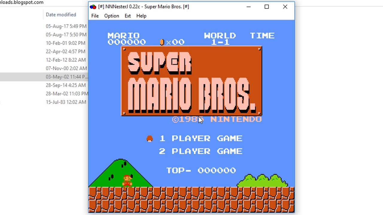 Download Super Mario Bros  1985 Free For PC - Free Of Cost Downloads