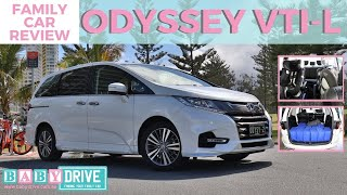 Family car review: Honda Odyssey VTi-L 2018