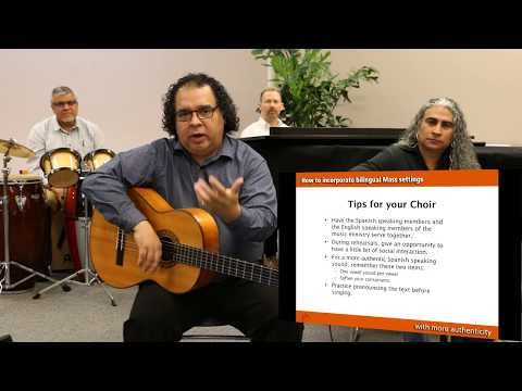 Webinar: How to Incorporate Bilingual Mass Settings with More Authenticity with Jaime Cortez