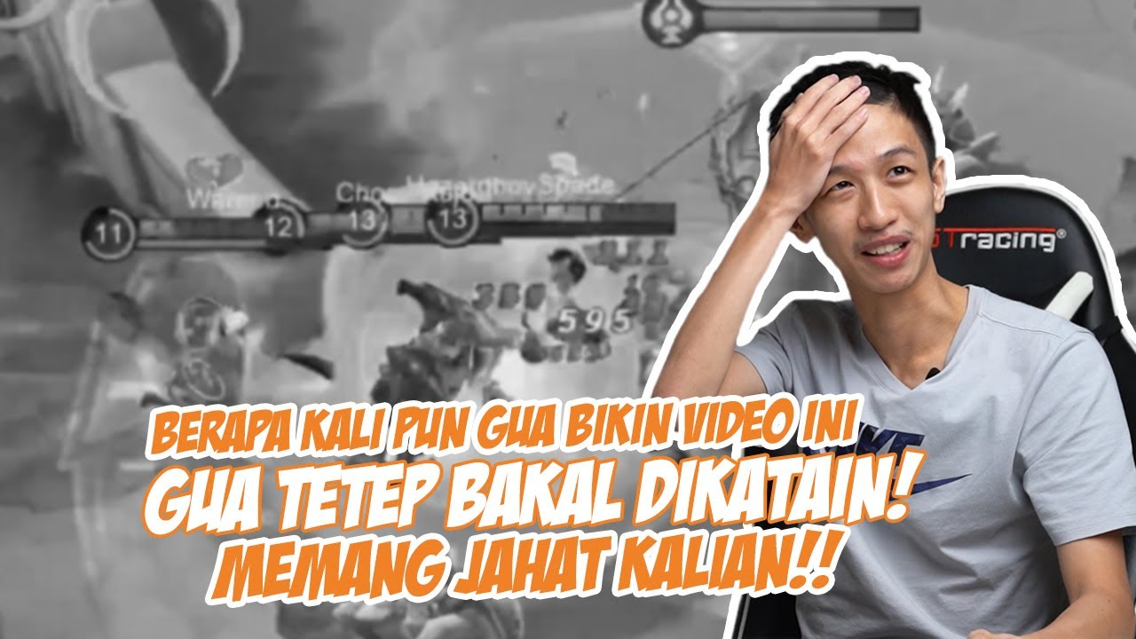 BRP X PUN GW BIKIN UPLOAD VIDEO INI.. BAKAL TETEP DIKATAIN SIH GW :(