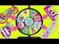 MYSTERY WHEEL OF SURPRISE TOYS CHALLENGE - LOL Surprise Dolls, Poopsie Slime Surprise, Hairdorables!