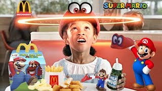 Mcdonalds Commercial - 2018 Super Mario Odyssey Nintendo Happy Meal All Toys