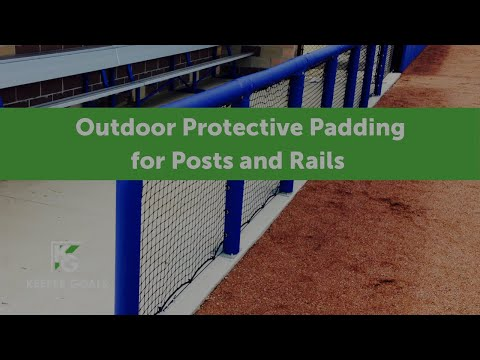 Outdoor Protective Padding For Posts and Rails